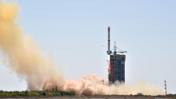 Lancement d'une satellite. (ZHEN ZHE / XINHUA)