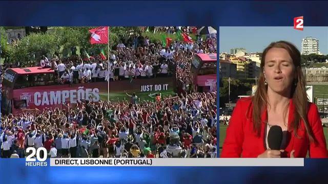Euro : grande fête à Lisbonne