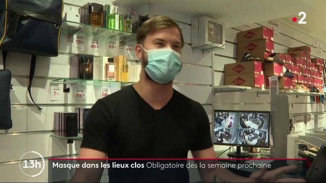 Masque obligatoire dans les lieux clos : l'agenda avancé