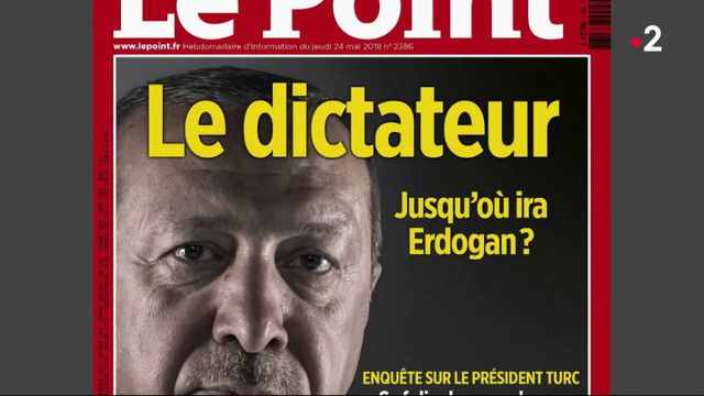 Turquie : la une du Point fait polémique