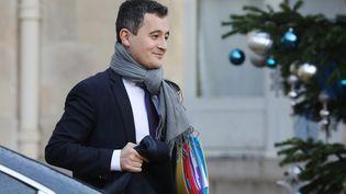 Gérald Darmanin, le ministre des Comptes publics au palais de l'Elysée à Paris, le 3 janvier 2018. (AFP)
