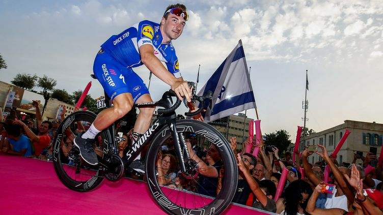 Elia Viviani sur le Tour d'Italie 2018 (BETTINI LUCA / BETTINIPHOTO)