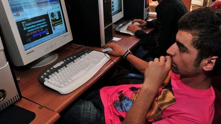 Un cyber café d'Istanbul (AFP Ugur Can)