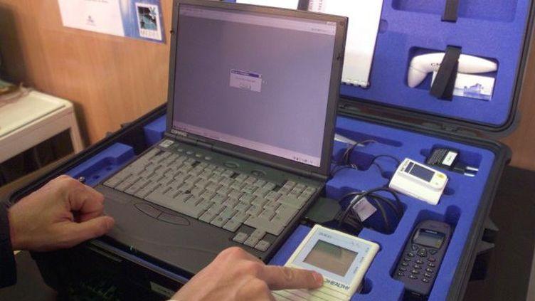 Valise station de télémédecine portable (Photo AFP)