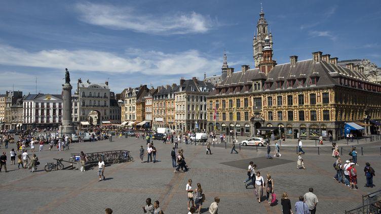 La place du général De Gaulle, à Lille. (MAXPPP)