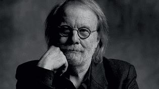 """Benny Anderson sur la pochette de """"Piano""""  (Johan Renk )"""