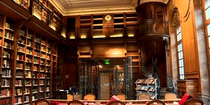 La salle des manuscrits a été réhabilitée  (Capture d'écran France 3/Culturebox)
