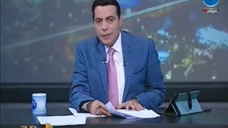 """Capture d'écran Youtube de l'émission """"Bonne nuit"""" deMohamed al-Gheiti sur LTC TV (DR)"""