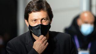Leonardo, le directeur sportif du PSG, à Angers le 16 janvier 2021 (JEAN-FRANCOIS MONIER / AFP)