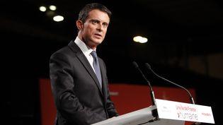 Manuel Valls lors d'un meeting pour le premier tour des élections régionales à Paris, le 3 décembre 2015. (CITIZENSIDE / FRANCOIS LOOCK / CITIZENSIDE.COM)