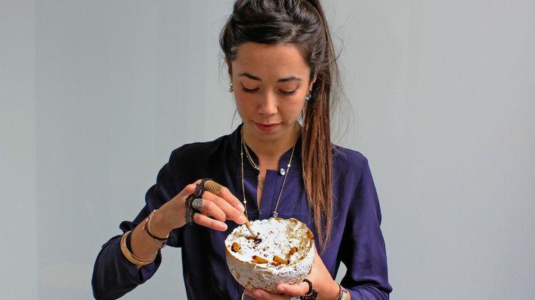 """Le champignon """"mange-mégots"""" d'Audrey Speyer sera testé en août prochain. (CAPTURE ECRAN PAGE FACEBOOK PURIFUNGI)"""