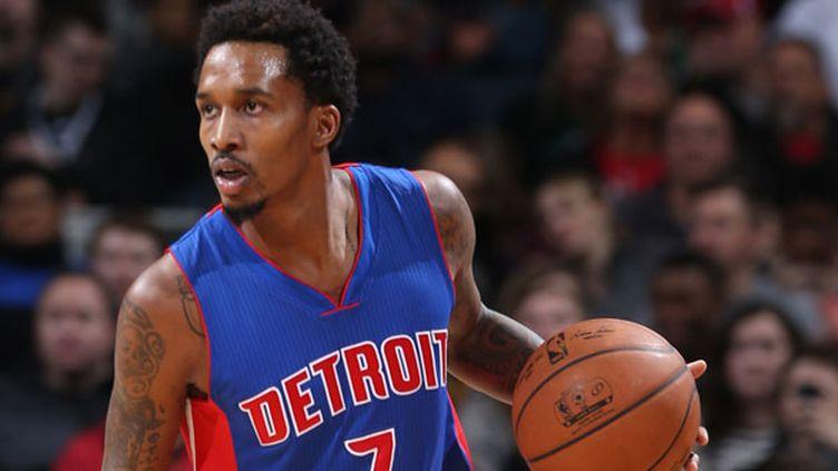 Le joueur de Detroit, Brandon Jennings