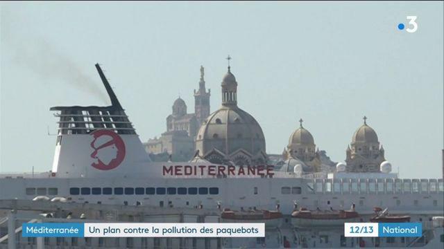 Méditerranée : un plan contre la pollution des paquebots en escale