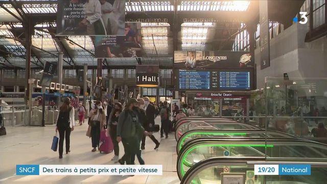 SNCF : une nouvelle offre d'Intercités à petit prix