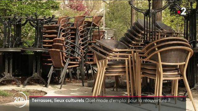 Terrasses, lieux culturels : à quand les réouvertures ?