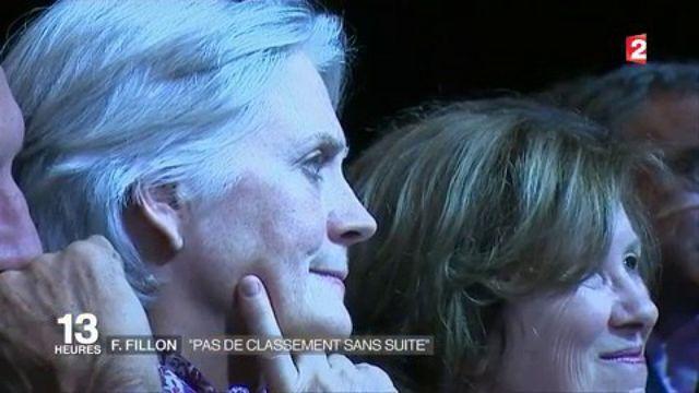 """François Fillon : """"pas de classement sans suite"""""""