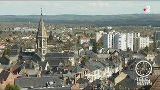 La ville de Guéret en Creuse. (France 2)