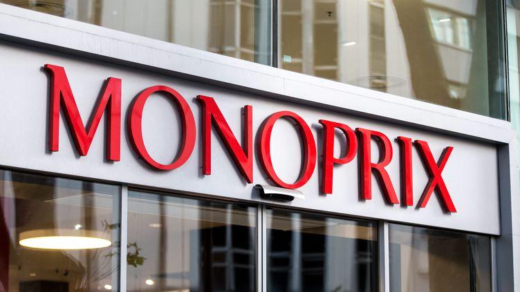 Monoprix va bientôt proposer ses produits sur Amazon, révèle le 26 mars 2018, Europe 1. (MAXPPP)