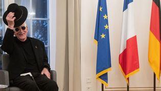 Tomi Ungerer en Allemagne en octobre 2018.  (MARIJAN MURAT / DPA / dpa Picture-Alliance)