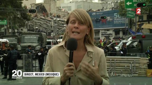 """Séisme au Mexique : """"Une course contre la montre s'est engagée"""""""