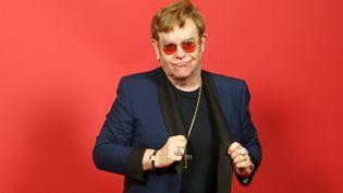 Elton John à Los Angeles, le 27 mai 2021 (PHILLIP FARAONE / GETTY IMAGES NORTH AMERICA / VIA AFP)