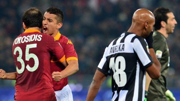 Anelka n'a pu éviter la défaite de la Juve (GABRIEL BOUYS / AFP)
