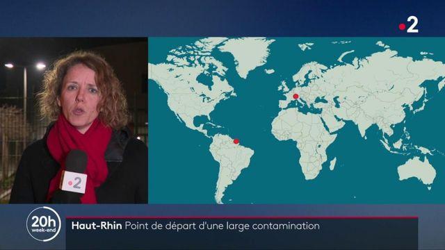 Haut-Rhin : le point de départ d'une contamination à grande échelle