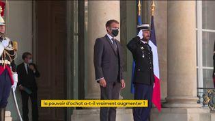 Le pouvoir d'achat des Français a-t-il réellement augmenté sous le quinquennat Emmanuel Macron ? (FRANCEINFO)