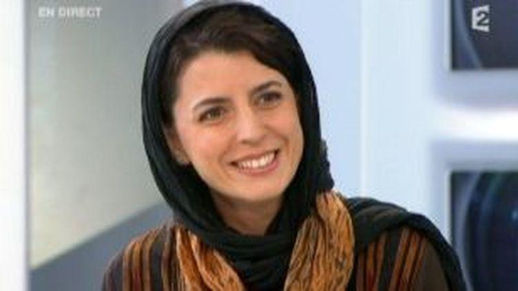 """Leila Hatami comédienne iranienne dans """"La Séparation""""  (Culturebox)"""