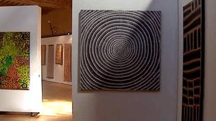 Une trentaine de toiles pour une plongée dans la culture aborigène.  (France 3 Auvergne)