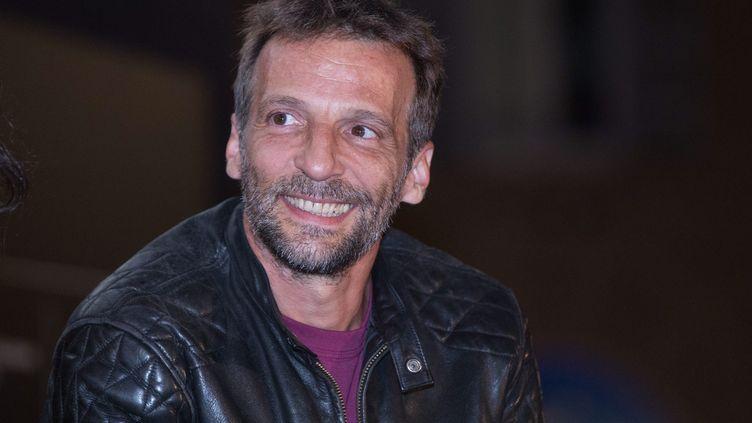 Mathieu Kassovitz au festival Il Cinema in piazza à Rome, le 28 juillet 2019 (MATTEO NARDONE / MAXPPP)
