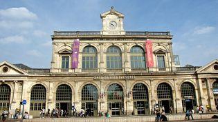 La gare de Lille Flandres, dans le Nord, le 13 septembre 2017. (MAXPPP)