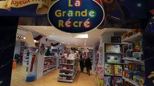 Un magasin La Grande Récré a été braqué, le 23 décembre 2014, dans le 19e arrondissement de Paris (photo d'illustration). (MAXPPP)