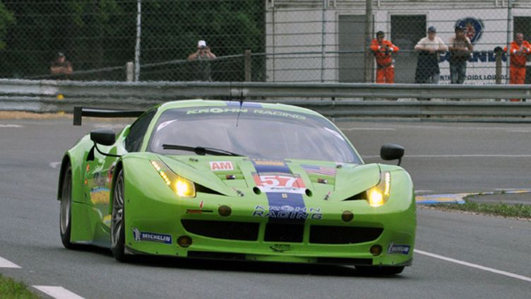 La Ferrari 458 Italia du Krohn Racing