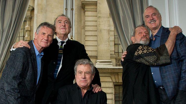 Les Monty Python en novembre 2013  (LEON NEAL / AFP)