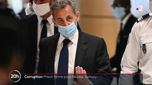 """Affaire des """"écoutes"""" : Nicolas Sarkozy condamné à trois ans de prison, dont un ferme, pour corruption"""