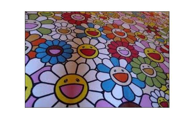 Des fleurs qui symbolisent à la fois l' envie d' un autre monde et le japon.  (DR)
