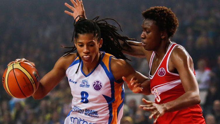 Fatimatou Sacko (à droite) (JULIEN WARNAND / MAXPPP)