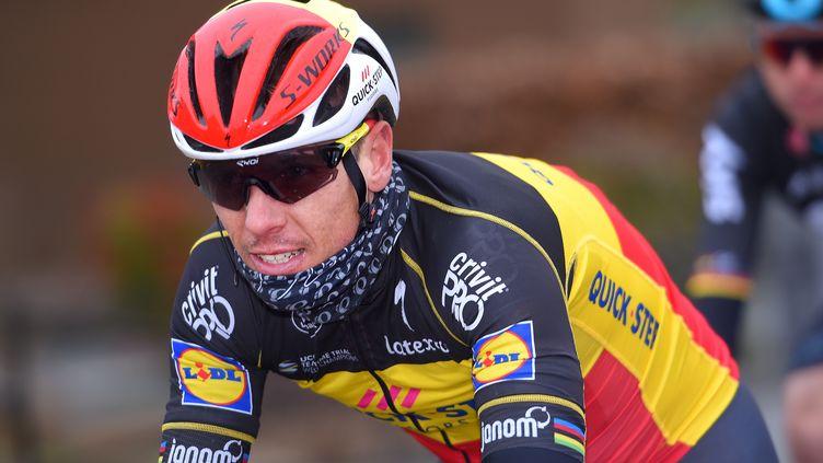 Le Belge Philippe Gilbert sous le maillot de la Quick-Step (DE WAELE TIM / TDWSPORT SARL)