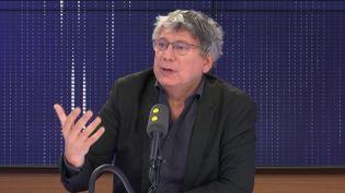 Éric Coquerel, député La France insoumise de Seine-Saint-Denis. (FRANCEINFO / RADIOFRANCE)