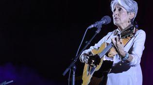 """Joan Baez est actuellement lancée dans son """"Fare Thee Well Tour"""". (JEAN-MARC QUINET / MAXPPP)"""
