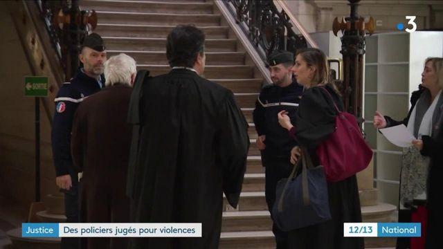 Justice : des policiers jugés pour violences
