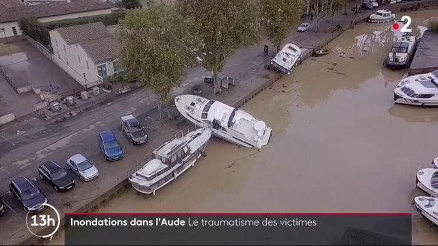 Inondations dans l'Aude : un an après, les victimes toujours traumatisées