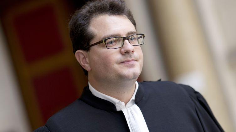 L'avocat des parents de Vincent Lambert, MaîtreJérôme Triomphe, en 2014. (KENZO TRIBOUILLARD / AFP)