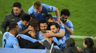 Le PSG affrontera Manchester City en demi-finale de la Ligue des champions. (FEDERICO GAMBARINI / DPA-POOL / DPA PICTURE-ALLIANCE VIA AFP)