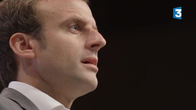 """""""Emmanuel macron, la stratégie du météore"""" : répétition générale"""