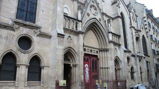L'église de Sainte-Eugène-Sainte-Cécile à Paris. (PHILIPPE BAVEREL / LE PARISIEN / MAXPPP)