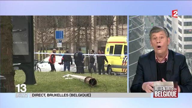 Attentats à Bruxelles : le quartier européen désert