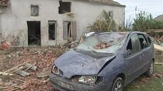 Une tornade balaye la Charente Maritime