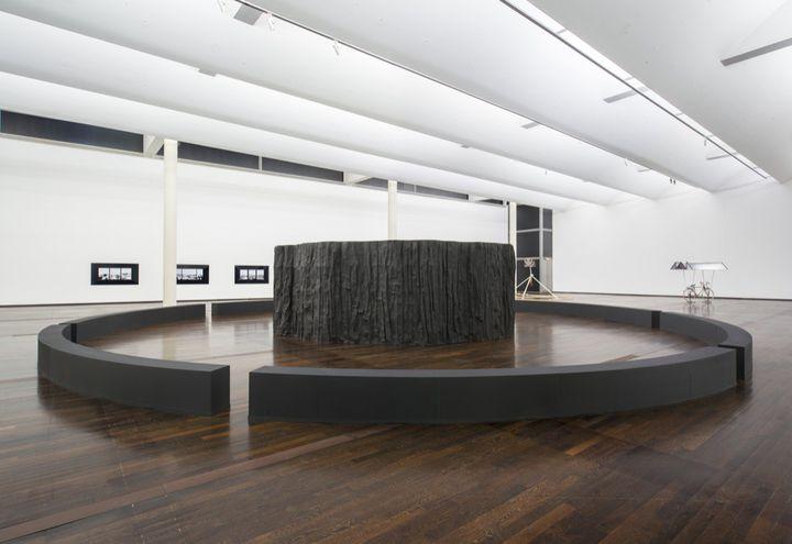 """La sculpture """"Marylin"""" deRenaud AUGUSTE-DORMEUIL aumusée d'art contemporain du Val-de-Marne.   (Martin Argyroglo / MAC/VAL. Production: MAC/VAL, musée d'art contemporain du Val-de-Marne.)"""